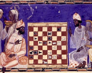 Buzurjmihr Masters the Game of Chess