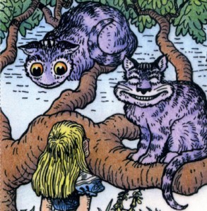 Vanishing Cheshire Cat