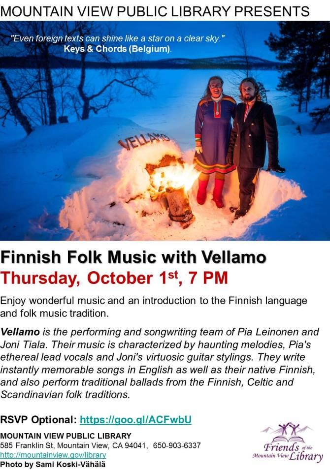 Vellamo Finnish Folk Music