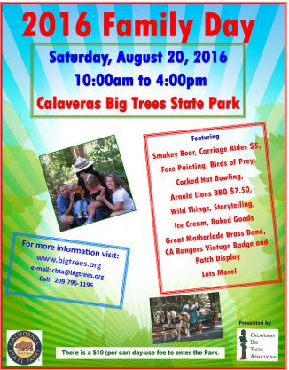 Calaveras Big Trees Annual Family Day